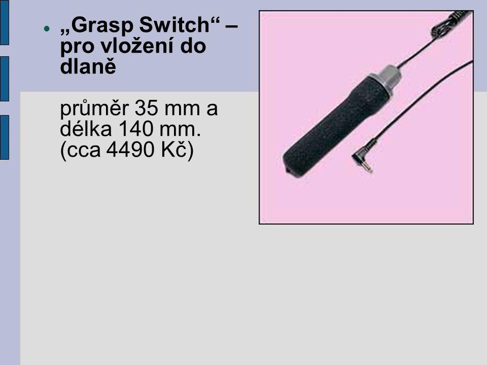 IntegraSwitch®40 je první a prozatím jediný nádechový- výdechový spínač spínač firmy Life Tool ovládání různých spínačů, ovladačů apod.