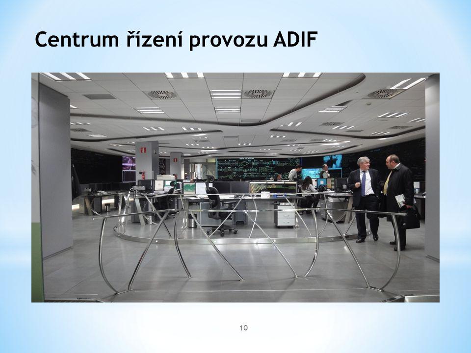 10 Centrum řízení provozu ADIF