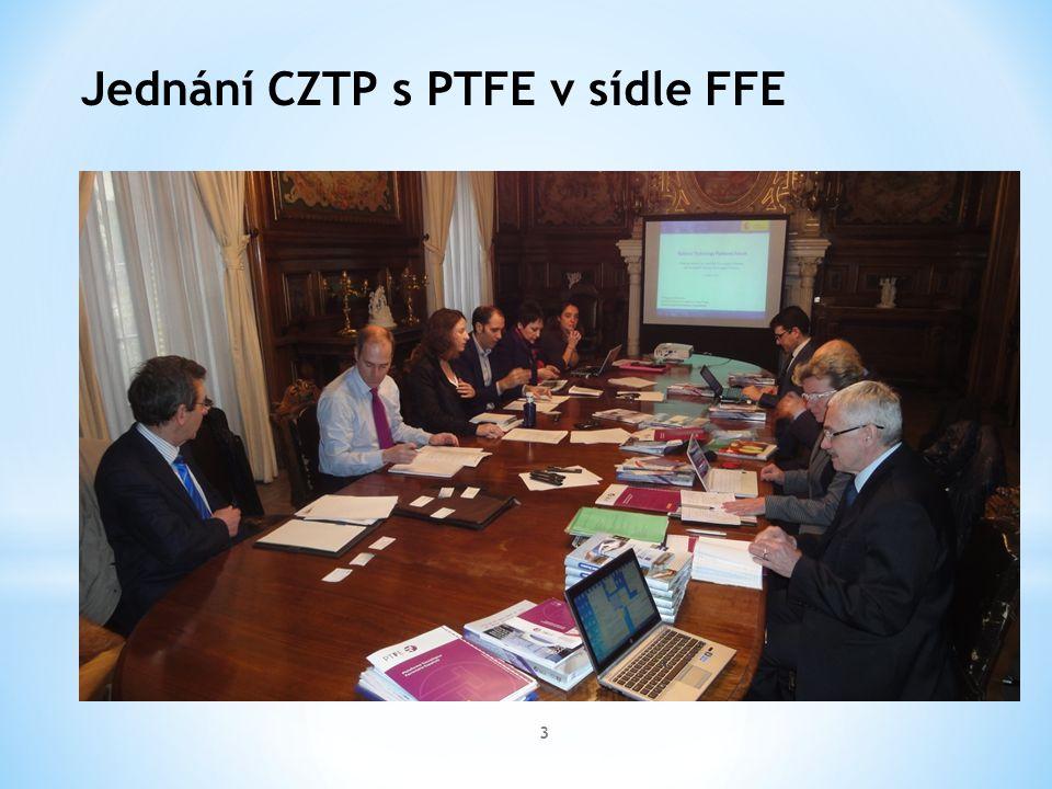 3 Jednání CZTP s PTFE v sídle FFE
