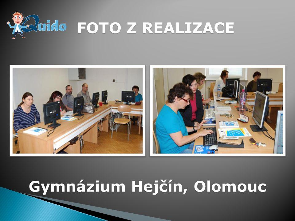 FOTO Z REALIZACE Gymnázium Hejčín, Olomouc