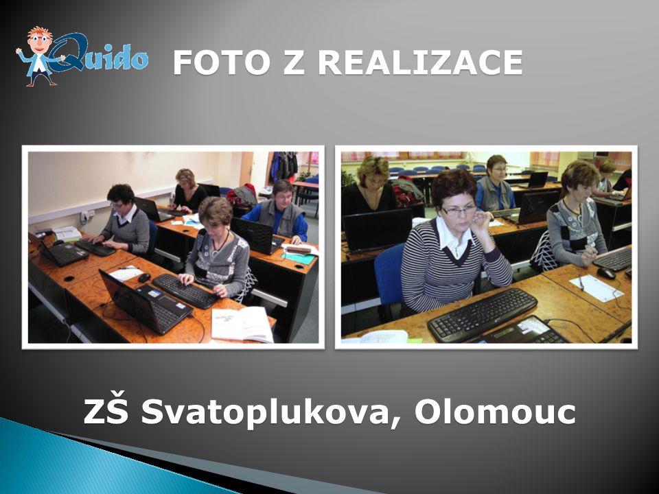 FOTO Z REALIZACE ZŠ Svatoplukova, Olomouc