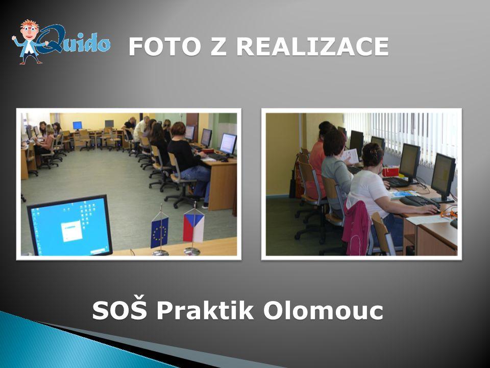 FOTO Z REALIZACE SOŠ Praktik Olomouc