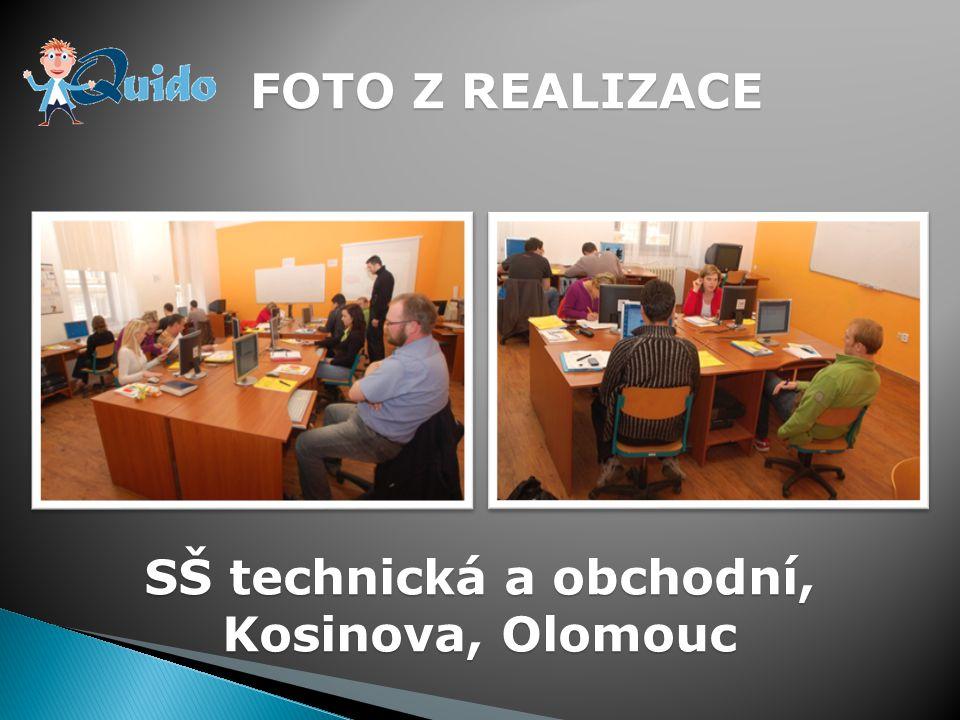 FOTO Z REALIZACE SŠ technická a obchodní, Kosinova, Olomouc