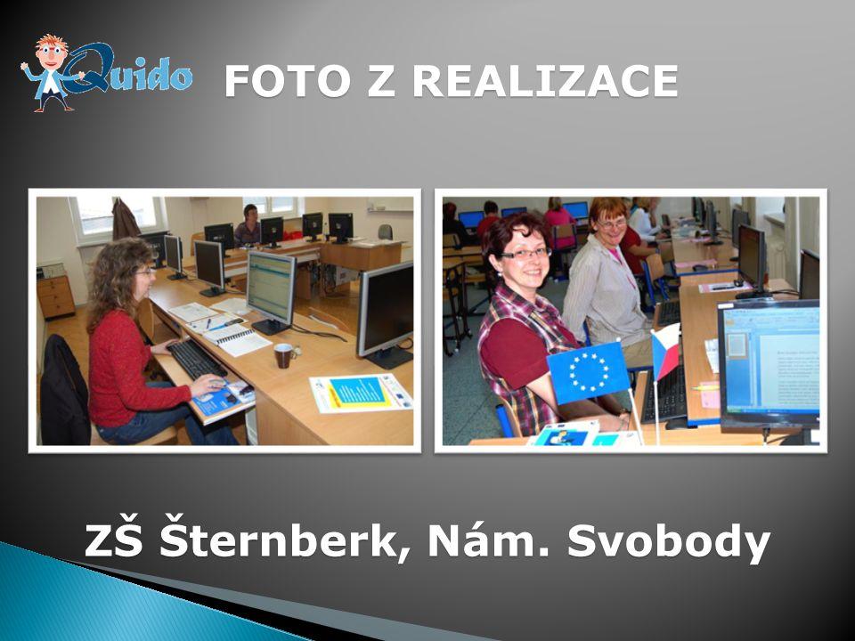 FOTO Z REALIZACE ZŠ Šternberk, Nám. Svobody