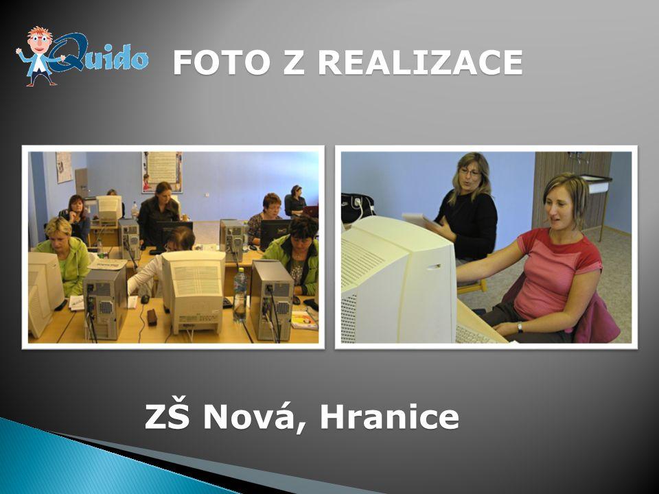 FOTO Z REALIZACE ZŠ Nová, Hranice