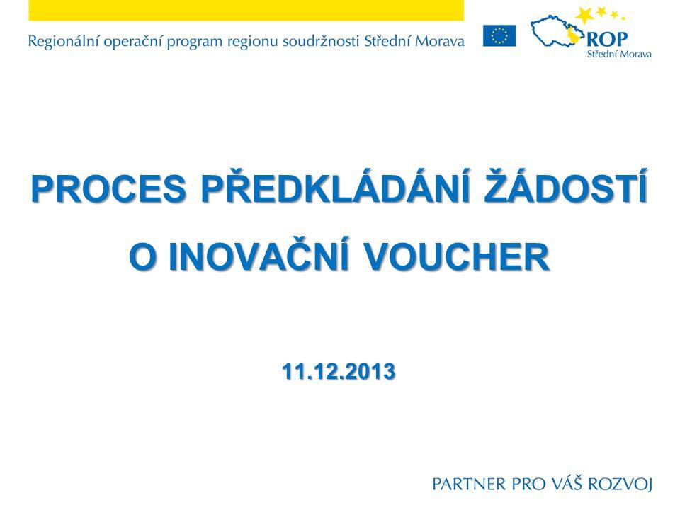 Inovační voucher Inovační voucher představuje finanční nástroj na podporu rozvoje spolupráce podnikatelských subjektů s vědeckovýzkumnými institucemi.