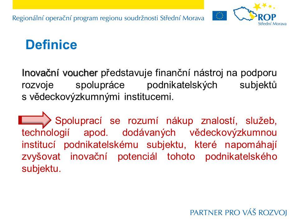 Řízení k předkládání inovačních voucherů  datum vyhlášení:6.