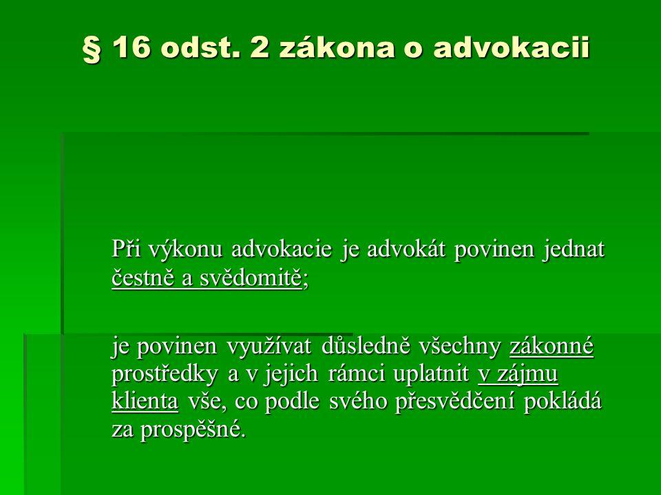 § 16 odst.
