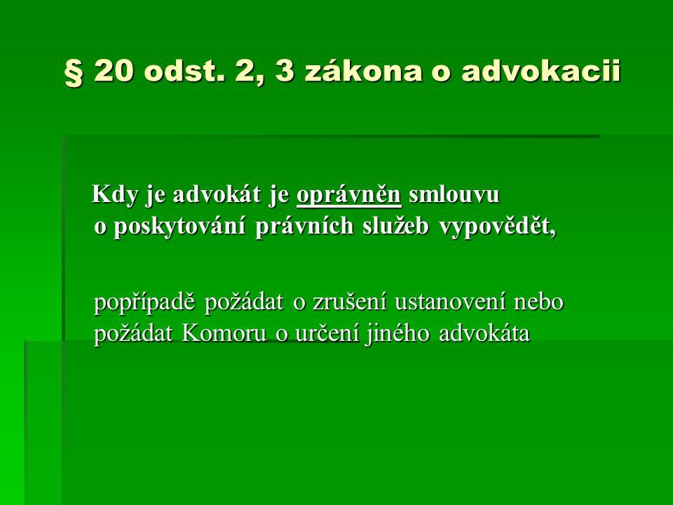 § 20 odst.