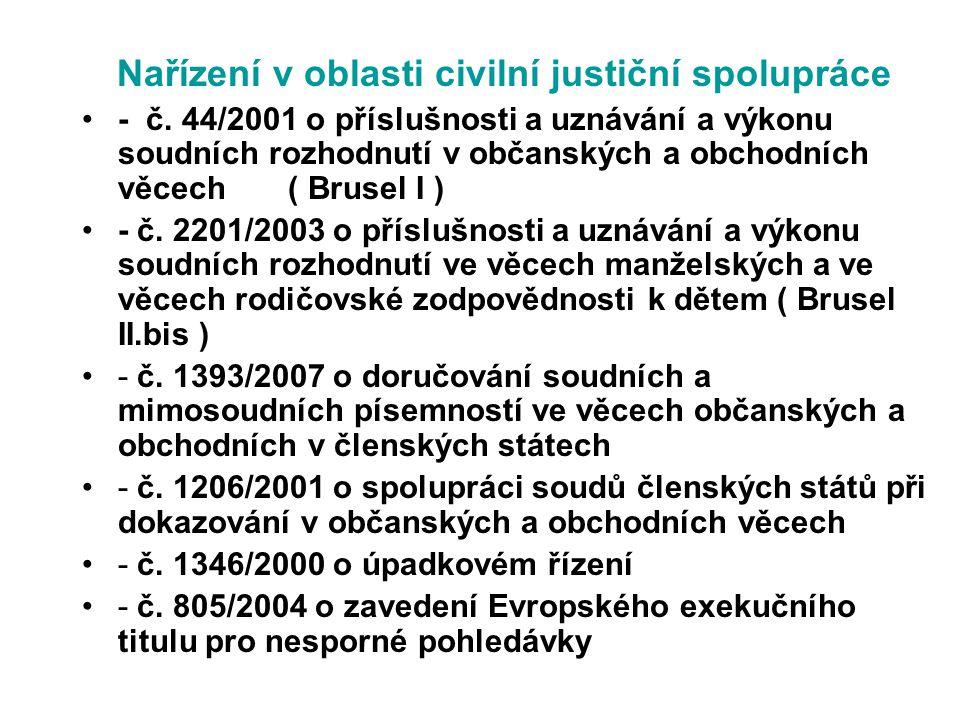 8/ Do 14 dnů soud zašle žalovanému v jazyce dle čl.