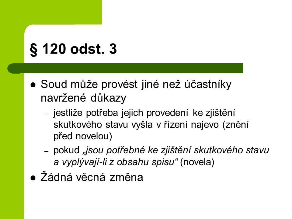§ 120 odst.