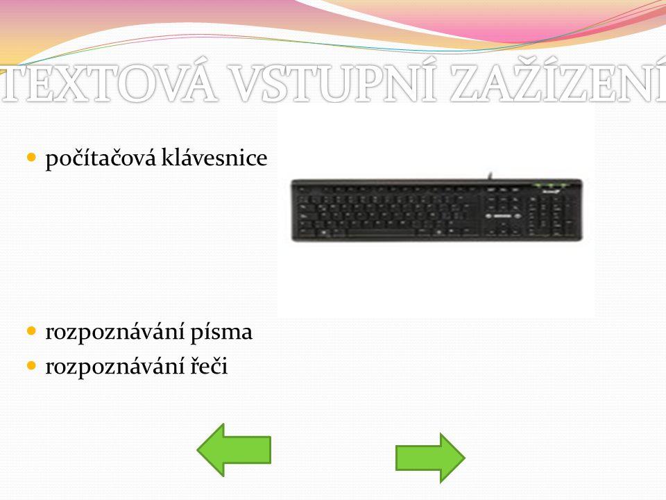počítačová klávesnice rozpoznávání písma rozpoznávání řeči