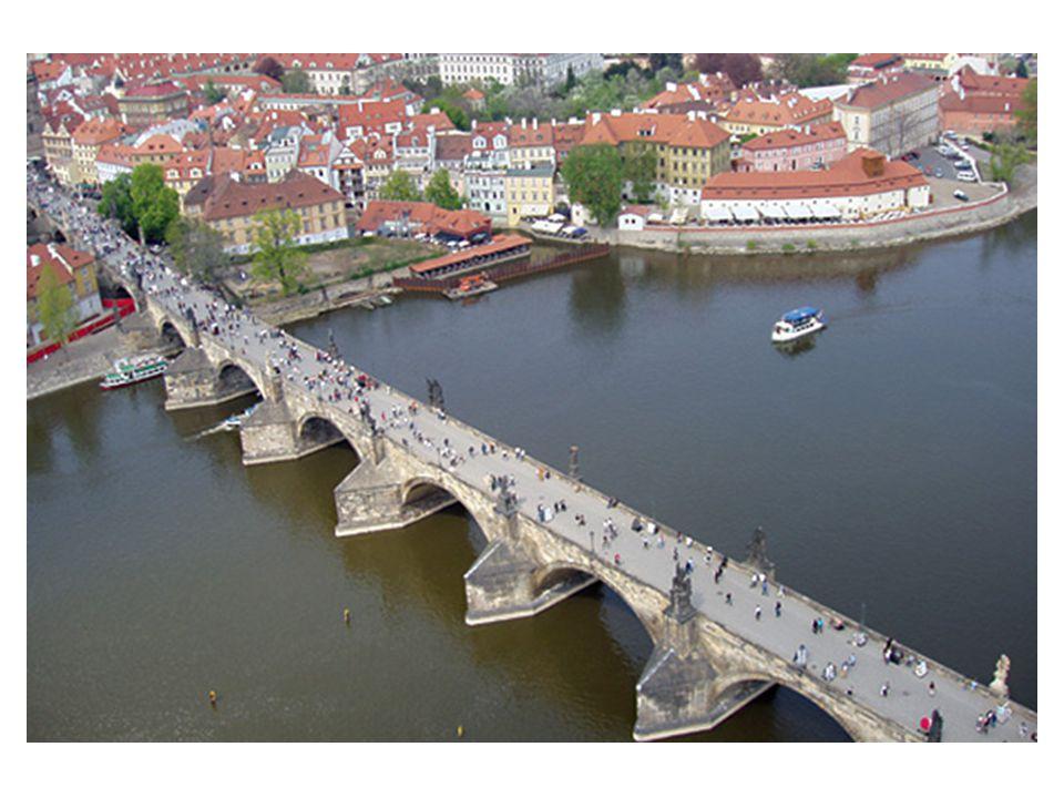 Schody z Kampy na Karlův most