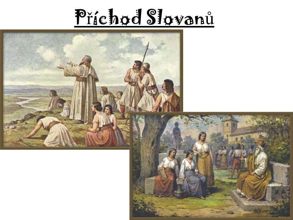 Příchod Slovanů, vznik Velké Moravy Petra Sojková