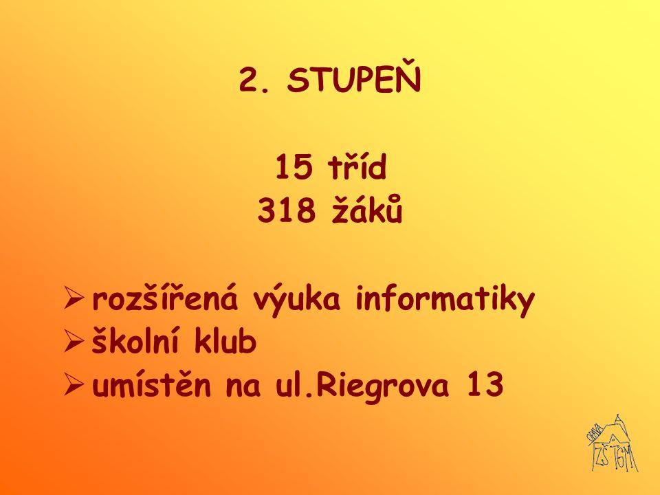 SPECIFIKA  Skupinová integrace 80 žáků (žáci s VPU) v 2.-7.