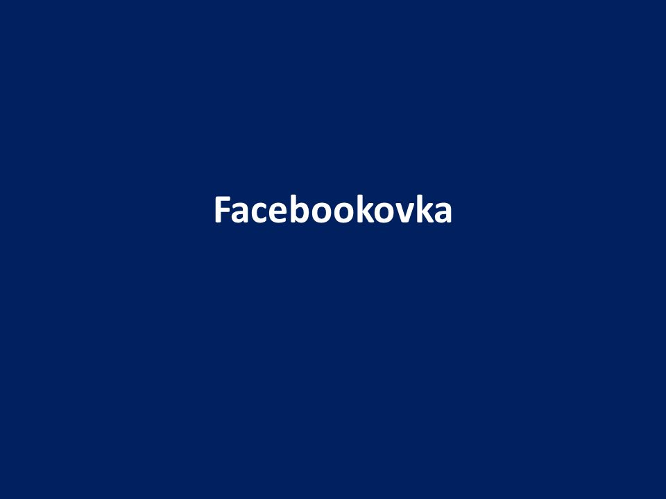 Facebookovka