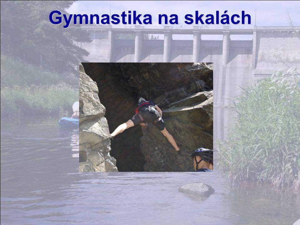Gymnastika na skalách