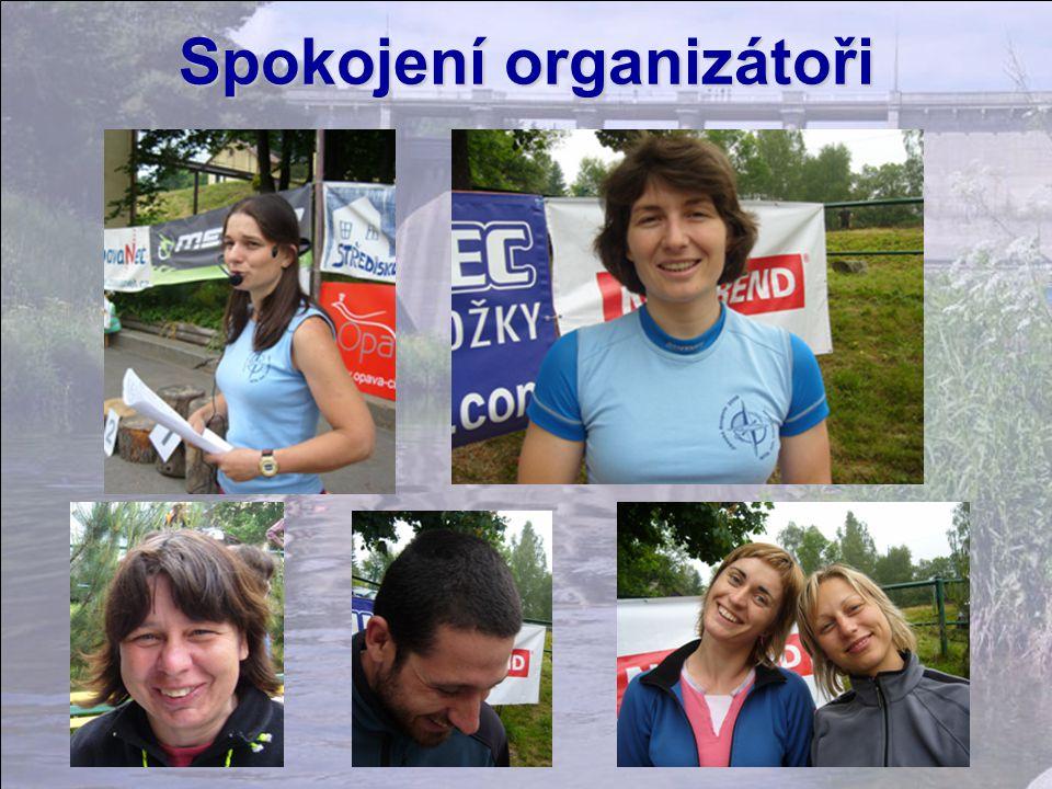Spokojení organizátoři