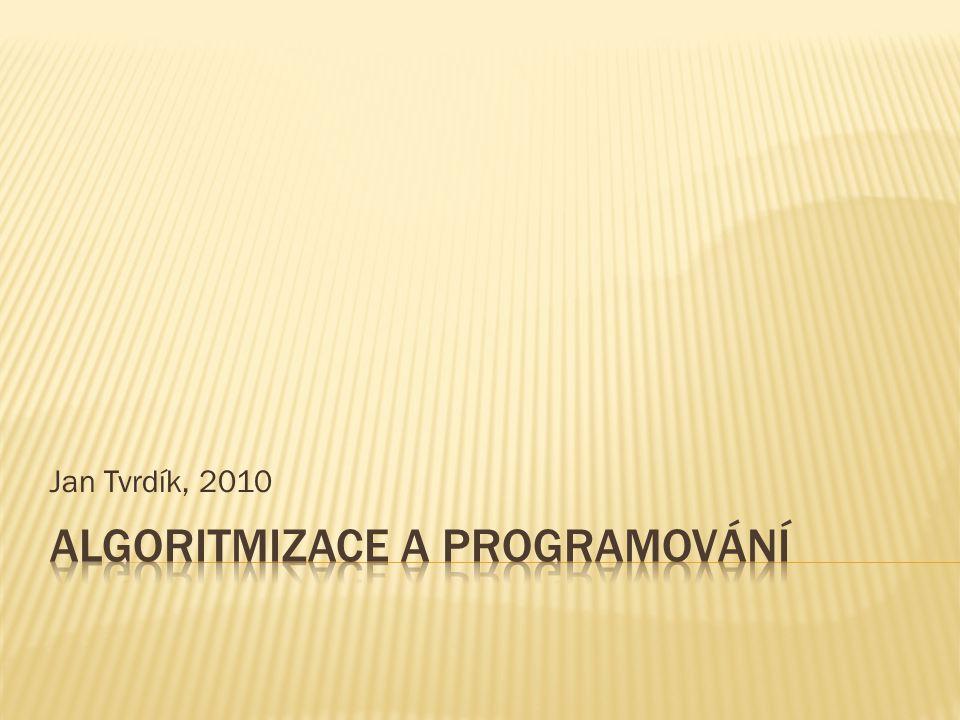Jan Tvrdík, 2010