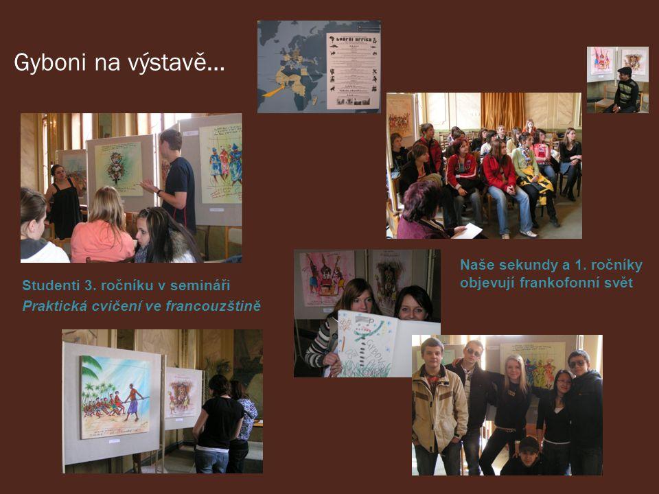 Gyboni na výstavě… Studenti 3.