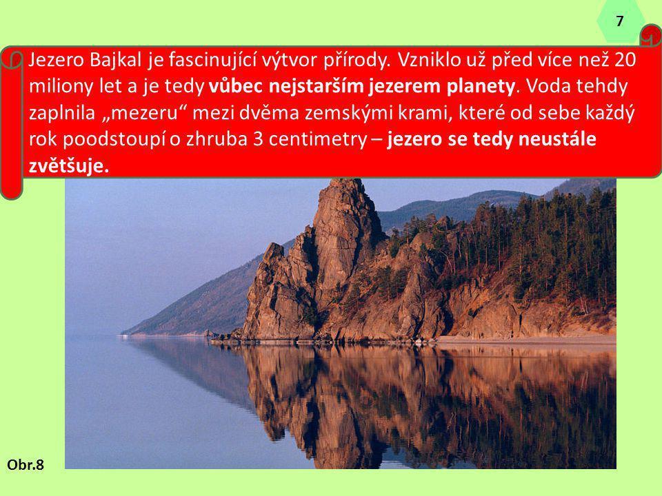 """Jezero Bajkal je fascinující výtvor přírody. Vzniklo už před více než 20 miliony let a je tedy vůbec nejstarším jezerem planety. Voda tehdy zaplnila """""""