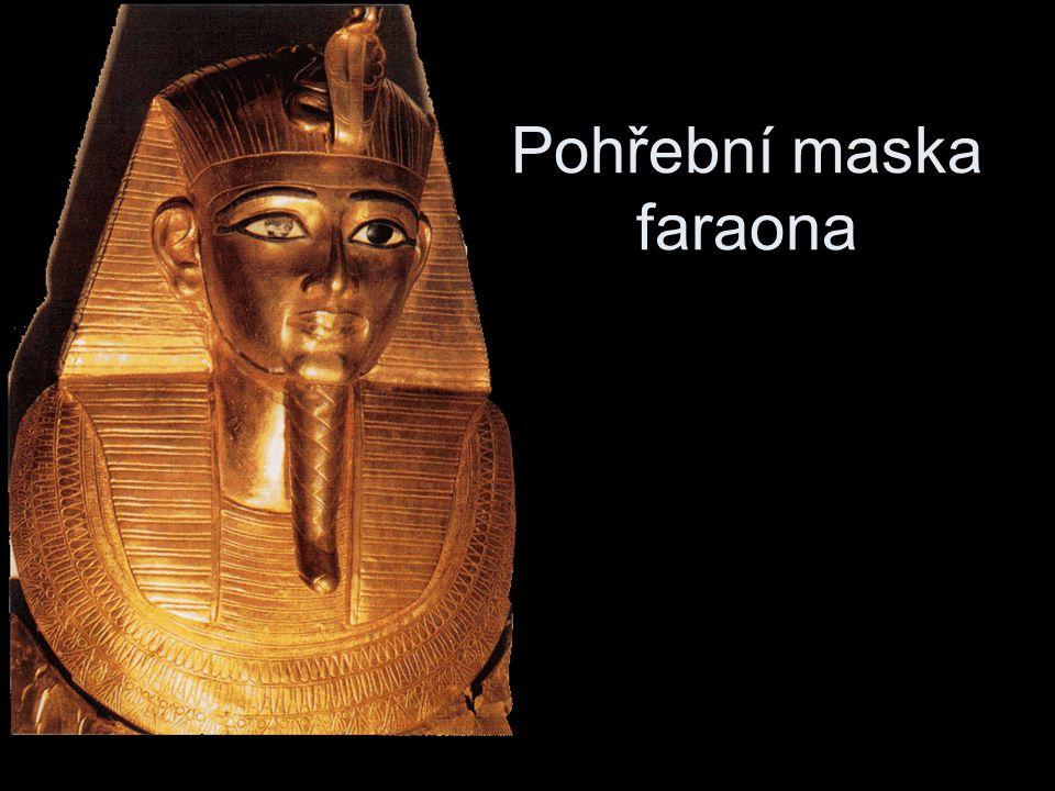 Pohřební maska faraona