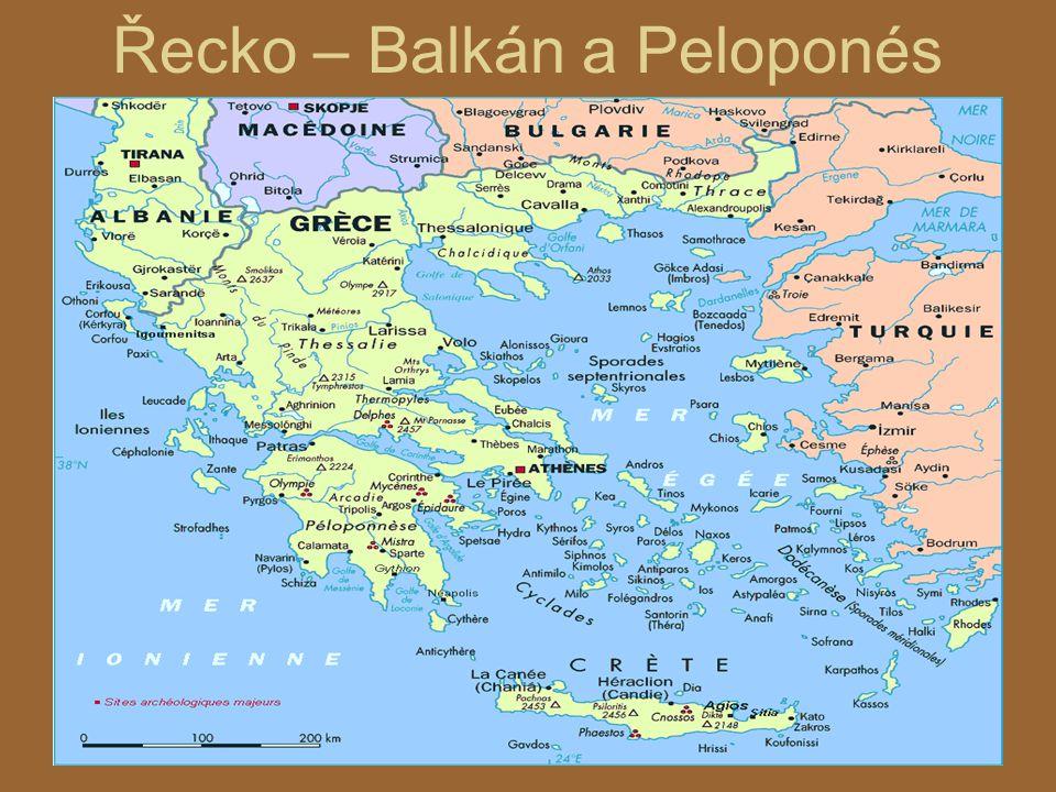 Řecko – Balkán a Peloponés