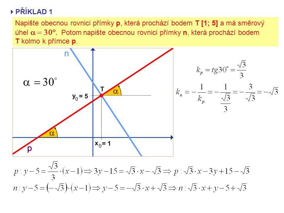  GEOMETRICKÝ VÝZNAM DERIVACE FUNKCE f(x) V BODĚ x 0 směrnice k TL sečny TLsměrnice tečny t Derivace funkce f(x) v bodě x 0 udává směrnici tečny t (k t ) k funkci f(x) v bodě T[x 0 ; f(x 0 )].