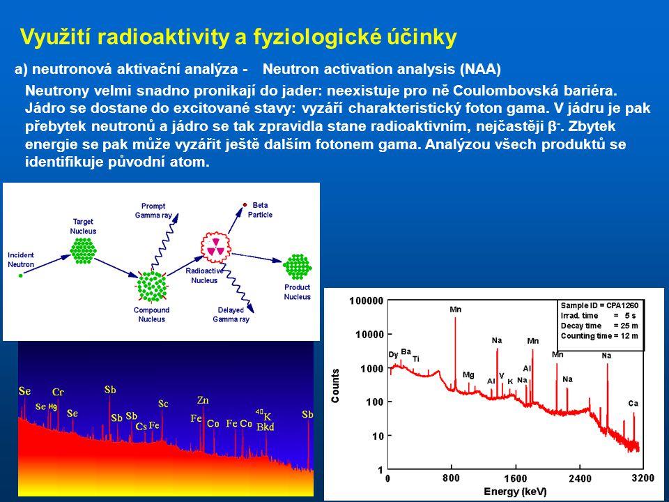 Diagram stabilních nuklidů rozpad β - rozpad β + rozpad α emise neutronu emise protonu N = 1,5 Z N = Z jádro je radioaktivní, je-li separační energie