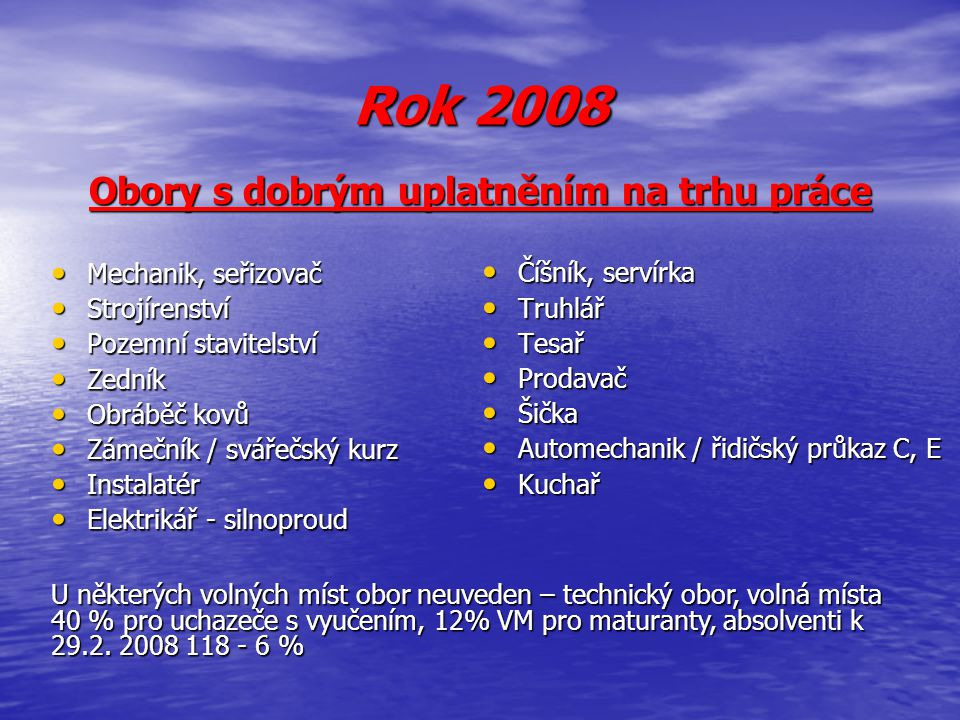 Demografický vývoj v okrese Strakonice Počty žáků 9.