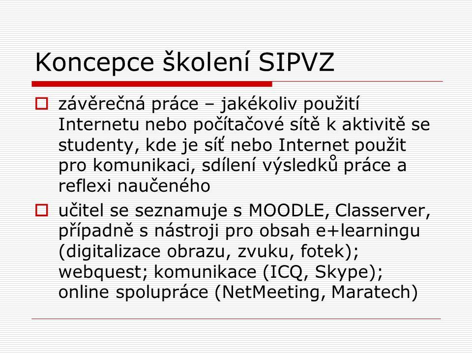 MOODLE  ukázky možných materiálů, činností a komunikace v MOODLE  podpora pro implementaci MOODLE v ČR na PedF UK v Praze  filtry na vkládání TeX výrazů – TeX filtr a jsMATH  otázky a problémy
