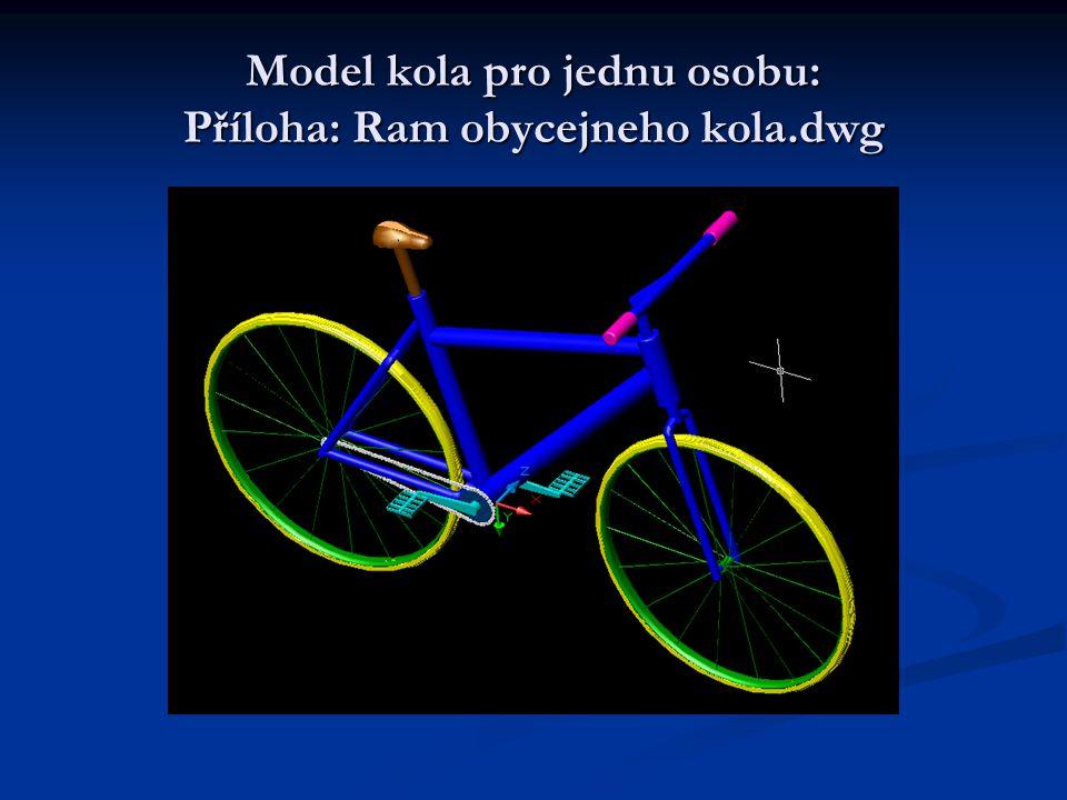 Model kola pro jednu osobu: Příloha: Ram obycejneho kola.dwg