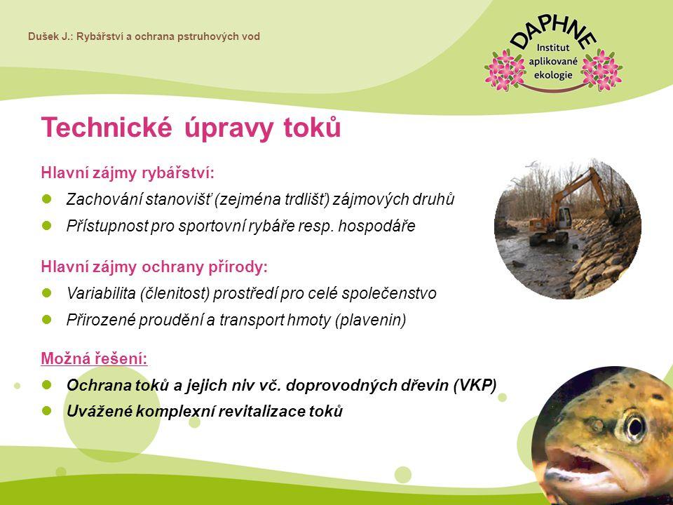 Dušek J.: Rybářství a ochrana pstruhových vod