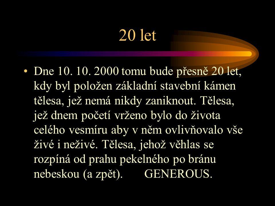 20 let Dne 10.10.