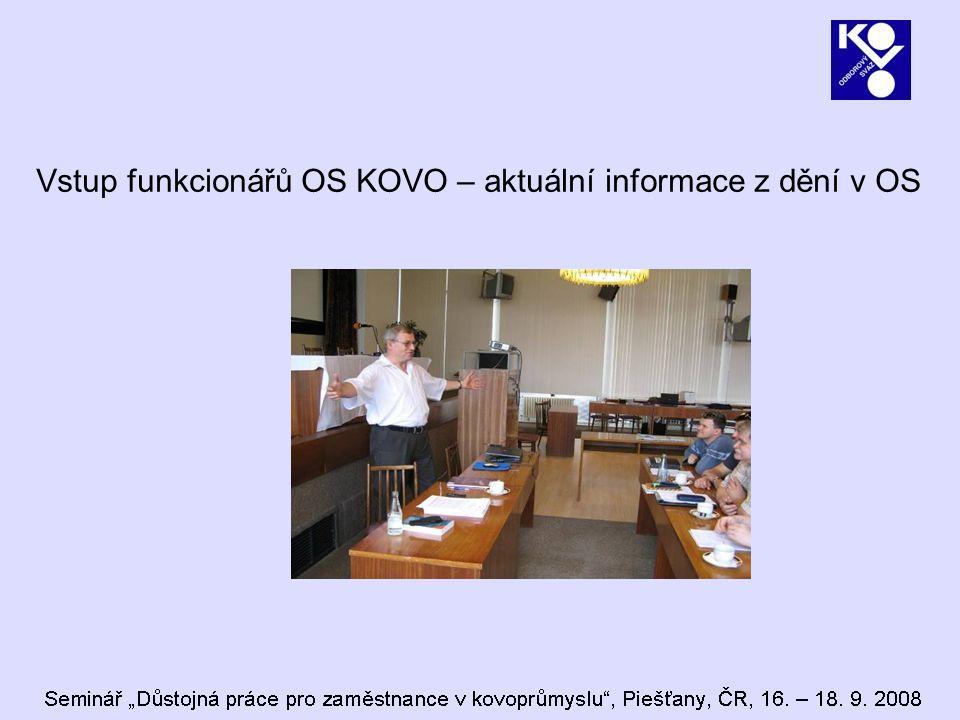 Vzdělávací akce za I.pololetí 2008