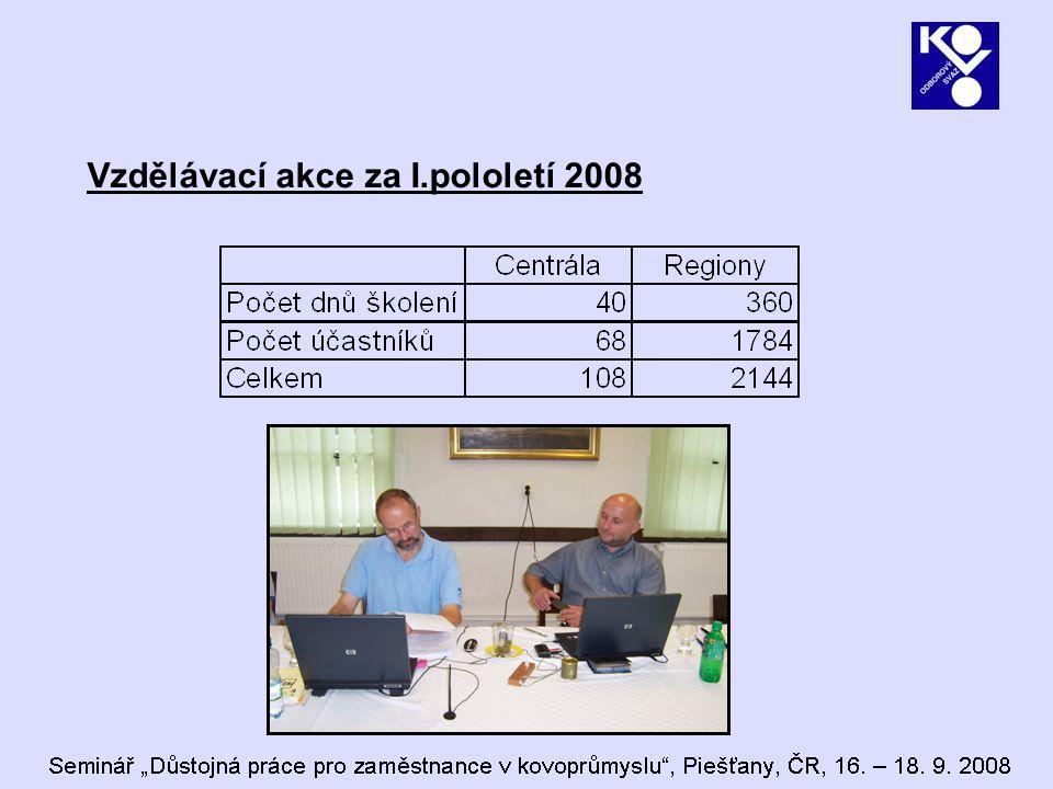 Projekt Adaptabilita členů OS KOVO  Společný projekt Obslužné spol.