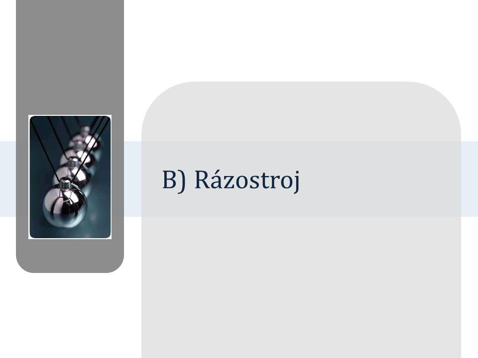 B) Rázostroj