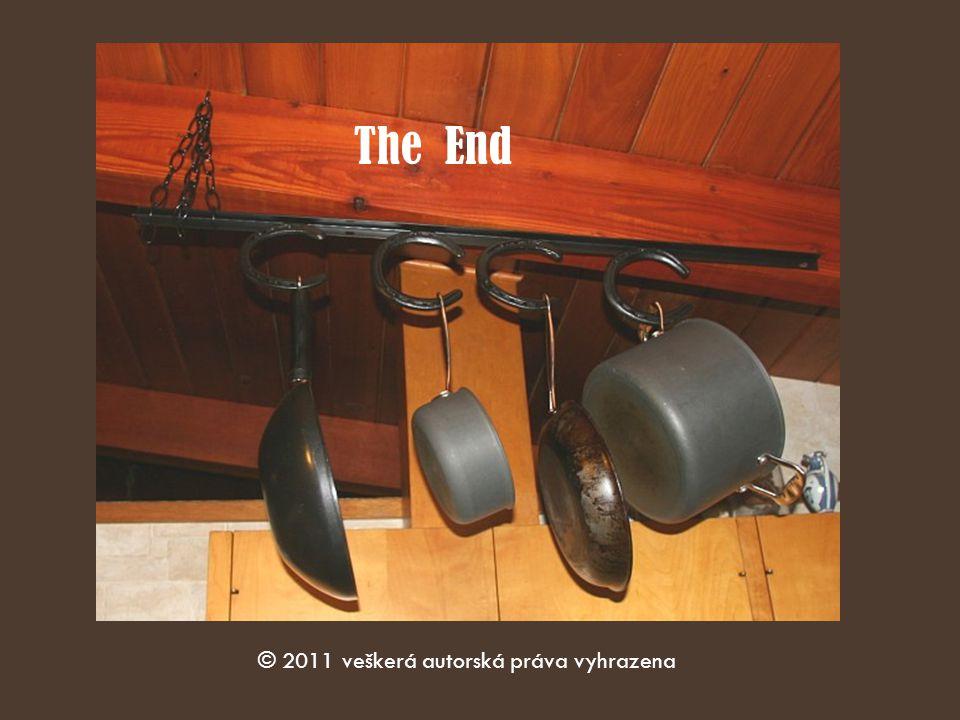The End © 2011 veškerá autorská práva vyhrazena