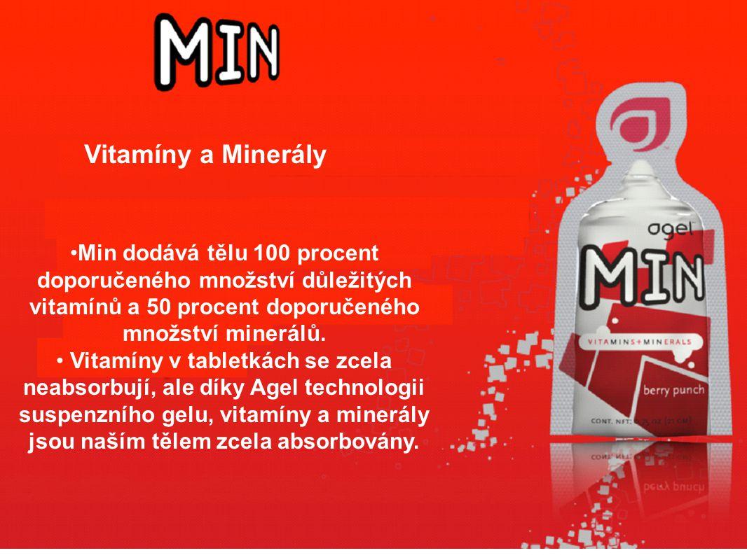 Min dodává tělu 100 procent doporučeného množství důležitých vitamínů a 50 procent doporučeného množství minerálů.