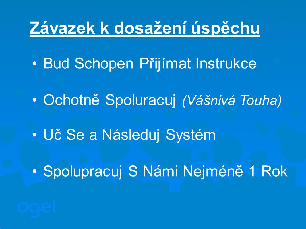Bud Schopen Přijímat Instrukce Ochotně Spoluracuj (Vášnivá Touha) Uč Se a Následuj Systém Spolupracuj S Námi Nejméně 1 Rok Závazek k dosažení úspěchu