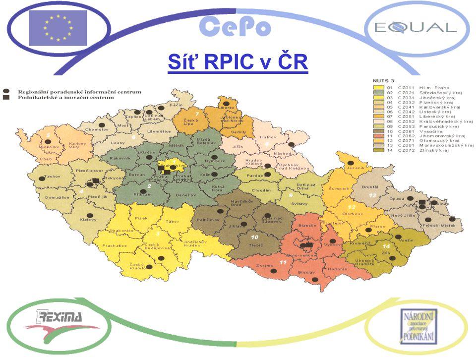 Síť RPIC v ČR