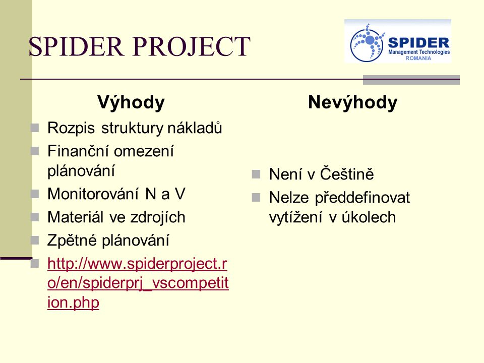 SPIDER PROJECT