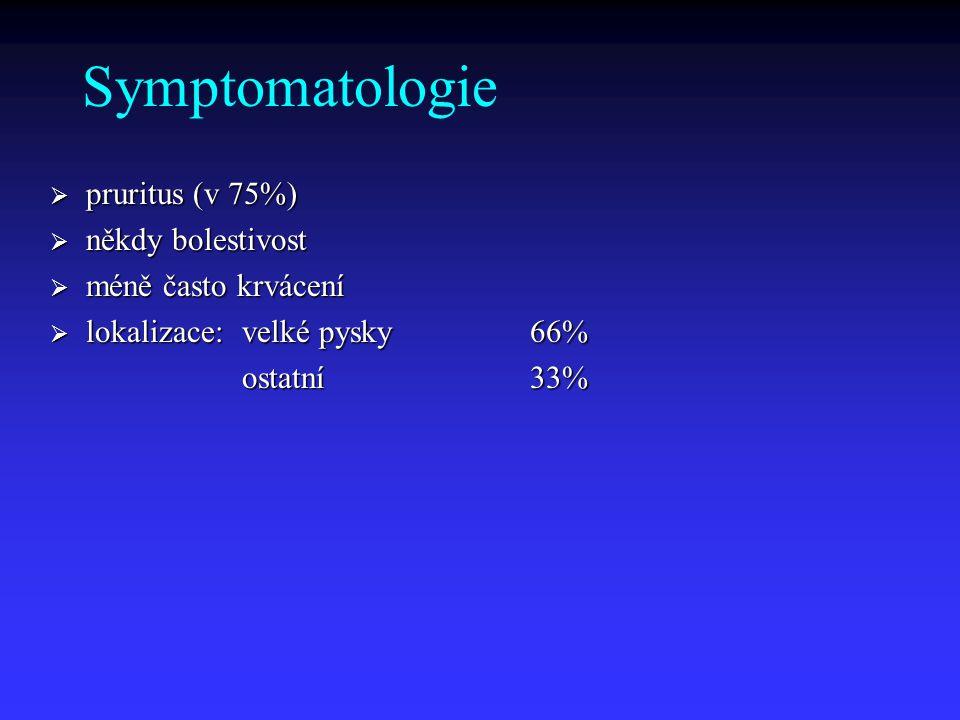 Diagnostika  fyzikální vyšetření, lymfatické uzliny  vulvoskopie: k.