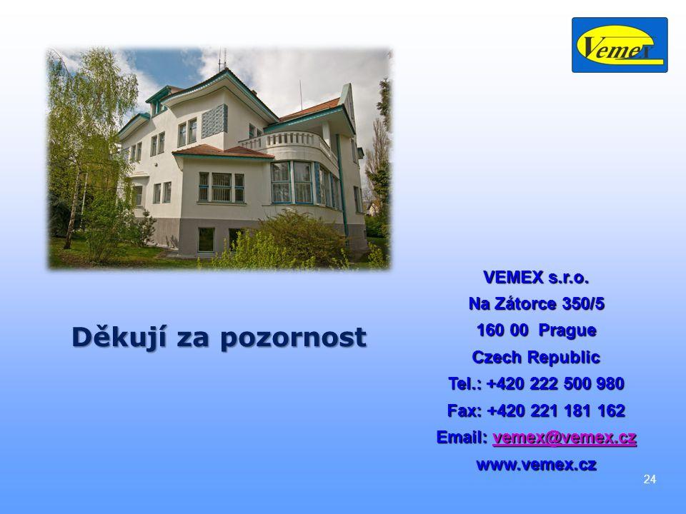 24 VEMEX s.r.o.