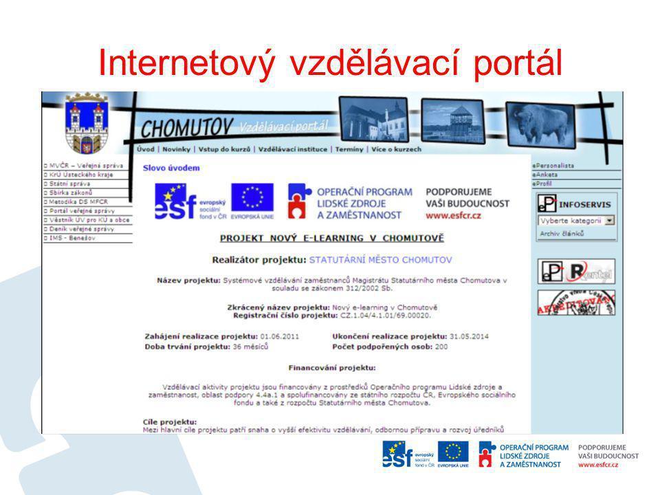 Internetový vzdělávací portál