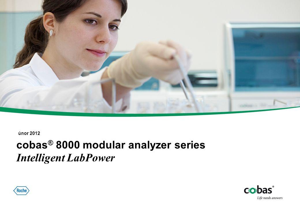 00. Monat 20XX, Titel der Präsentation, Referent, Seite 1 © cobas© cobas ® 8000 modular analyzer series únor 2012 Intelligent LabPower