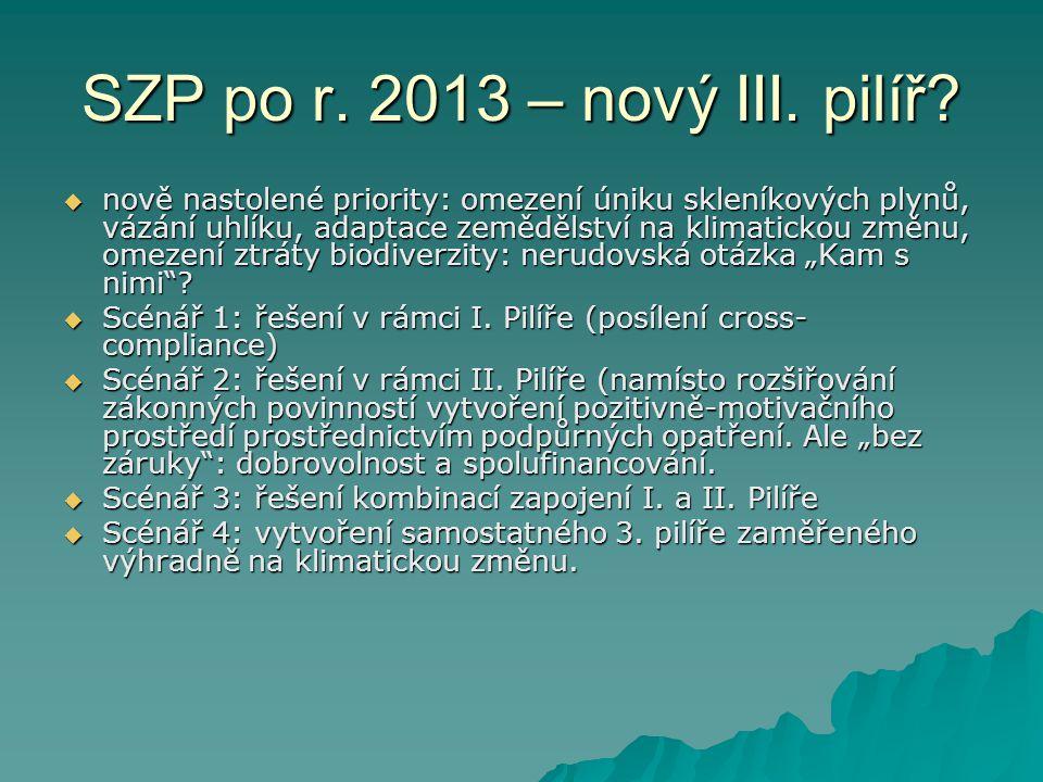 SZP po r. 2013 – nový III. pilíř.