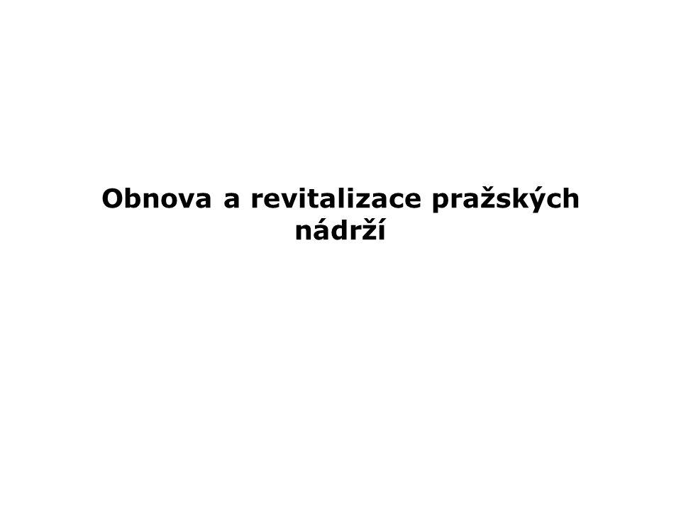 Obnova a revitalizace pražských nádrží