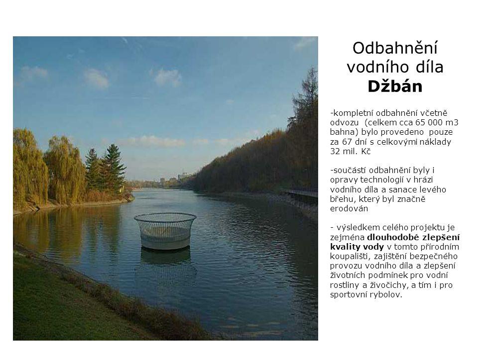 Rybník Kančík v Praze - Újezd
