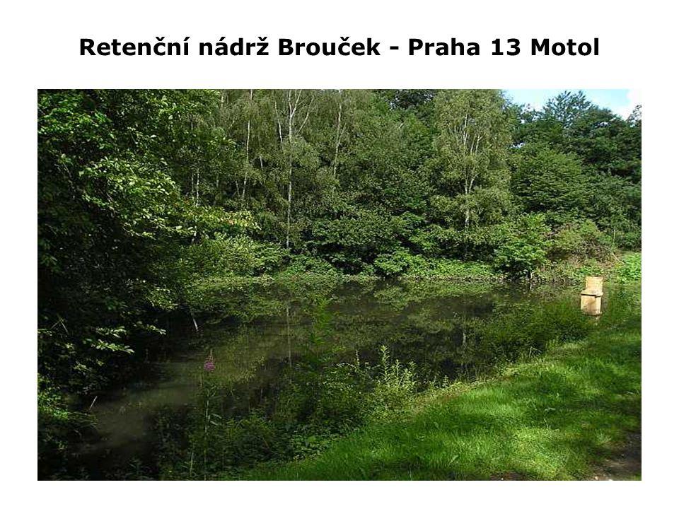 Retenční nádrž Brouček - Praha 13 Motol